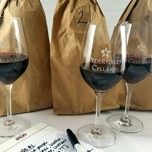 Hosting a blind wine tasting party