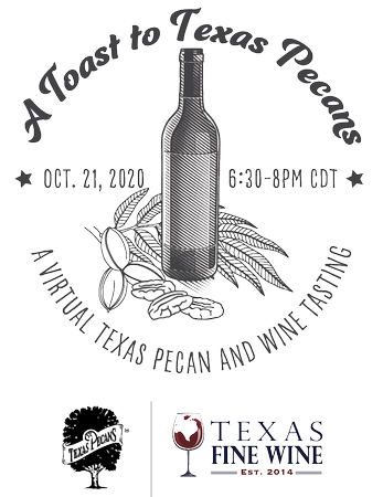 Pecan & Texas Fine Wine Pairing Bundle