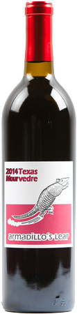 Armadillo's Leap 2014 Texas Mourvedre